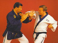 WJJF AUS Instructor Gi (Blue Top with White Bottoms)