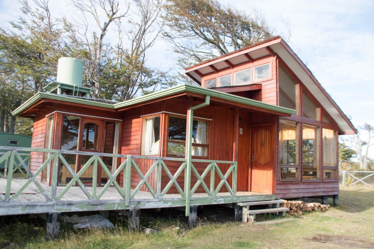 A cabin in Chilean Patagonia.