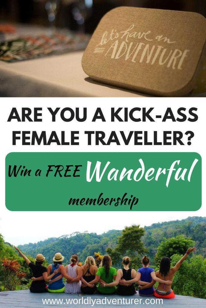 Are you a kick-ass female traveller looking to join a community of like-minded women? Learn about why women who travel alone rock and how Wanderful is the global travel network you need to join! (Includes affiliate link)