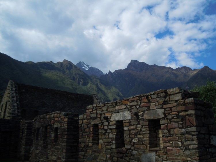 Well preserved Inca walls at the Choquequirao ruins, accessible by a challenging trek
