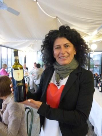 Winemaker Fiorella Bianco of Fratelli Bianco www.fllibianco.it