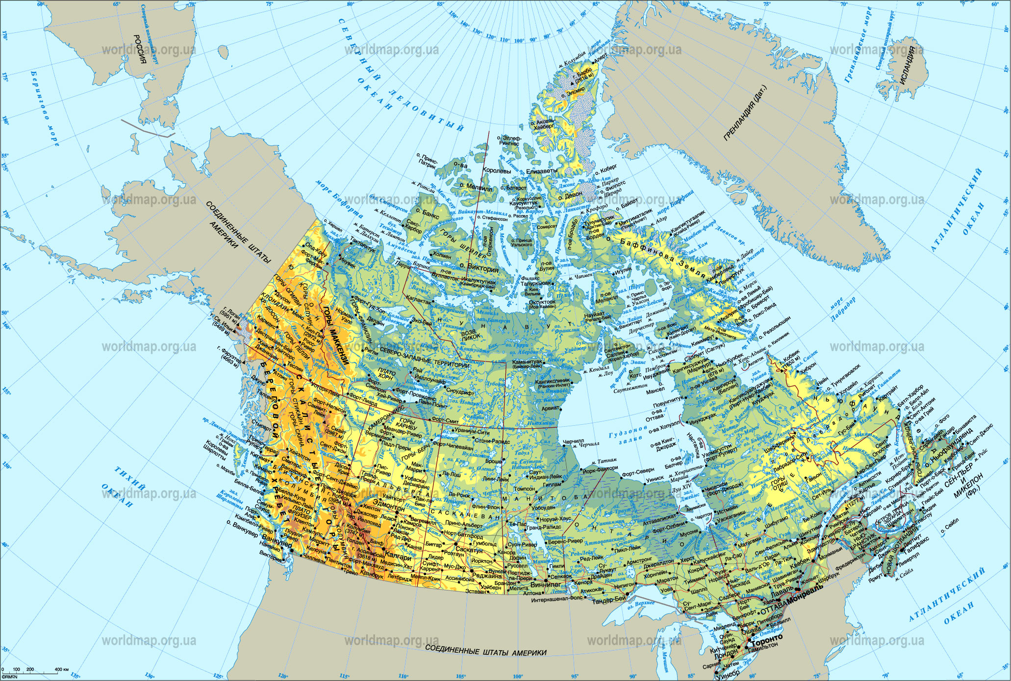 Map Of Canada Canada Maps