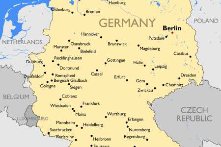 germany map with cities and states » Path Decorations Pictures ...
