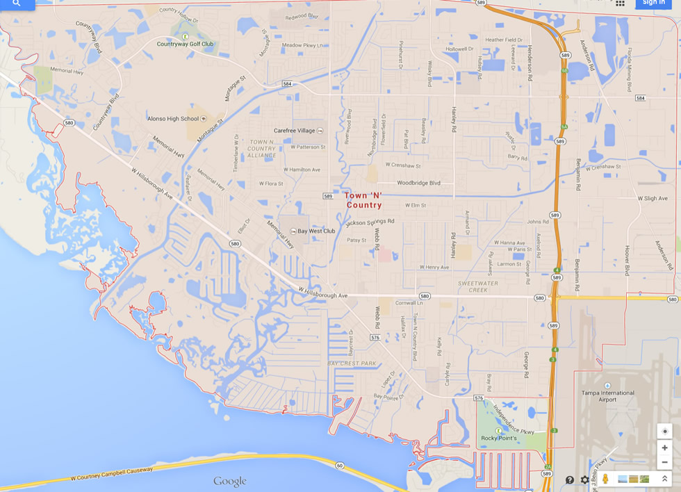 Map Of Florida Cities And Towns Printable