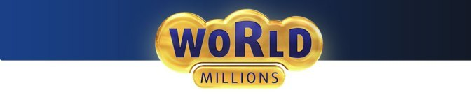 WorldMillion lotto and lottery logo