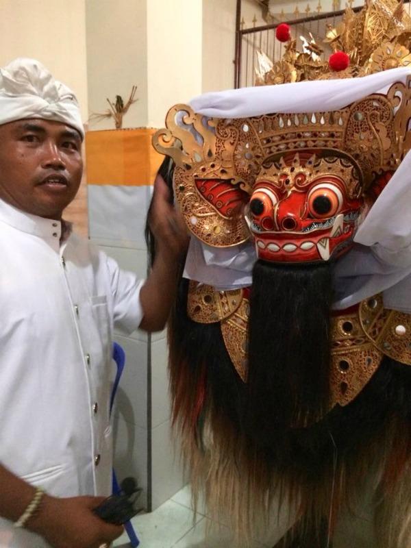 Barong Mask 1