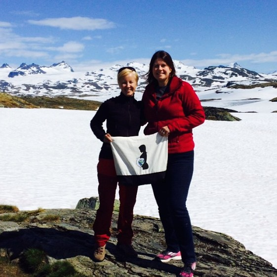 Astrid and Jen in Norway