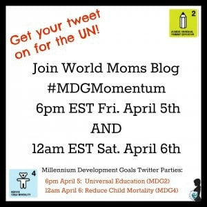 World Moms Blog Participates in the UN's Momentum 1000!