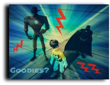 NEW JERSEY, USA: Goodies vs. Baddies