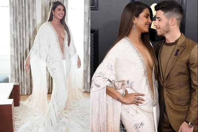 Priyanka Chopra Bold Picture in Grammy Award / Red Carpet 2021 - World Newz Portal