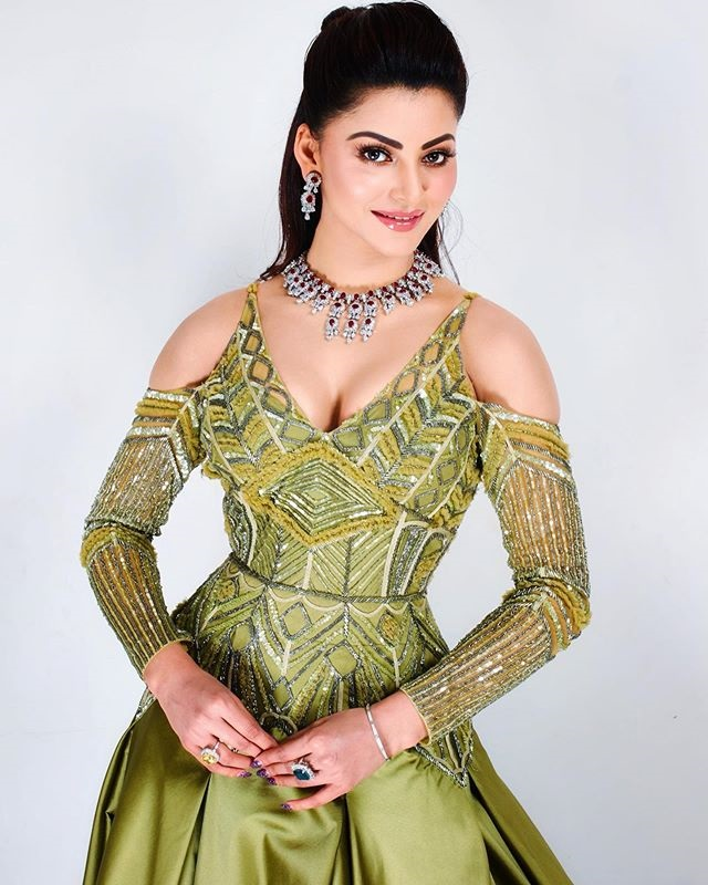 urvashi rautela today fashion 'Ek Diamond Da Haar' Photoshoot 2020