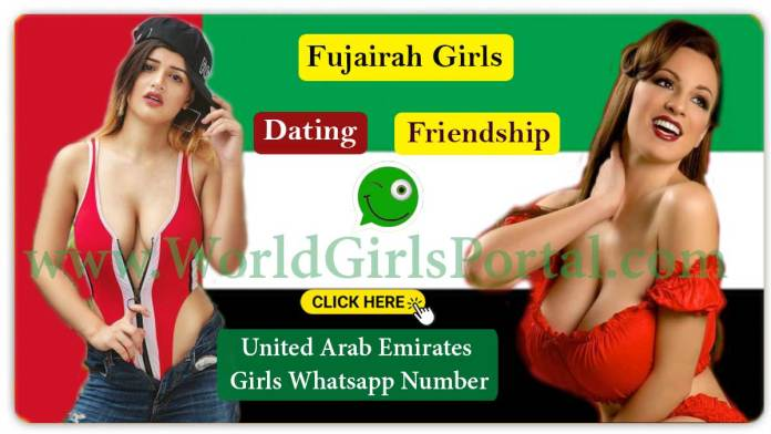 Fujairah Girls WhatsApp Numbers for Chat Online, Friendship, College Girls WP Group in UAE