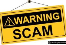 recruitment fraud warning