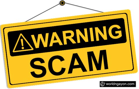 recruitment fraud warning
