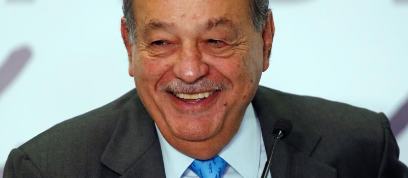 Carlos Slim, empresario mexicano tiene coronavirus