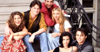 """Friends"" está protagonizada por David Schwimmer, Lisa Kudrow, Matt LeBlanc, Courteney Cox, Jennifer Aniston y Matthew Perry."