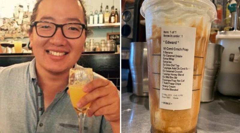 Conozca al hombre detrás del pedido de Starbucks mas viral e irritante de todos los tiempos