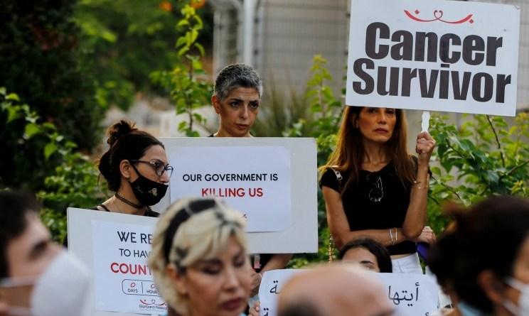 Pacientes libaneses con cáncer se enfrentan a una búsqueda frenética de medicamentos