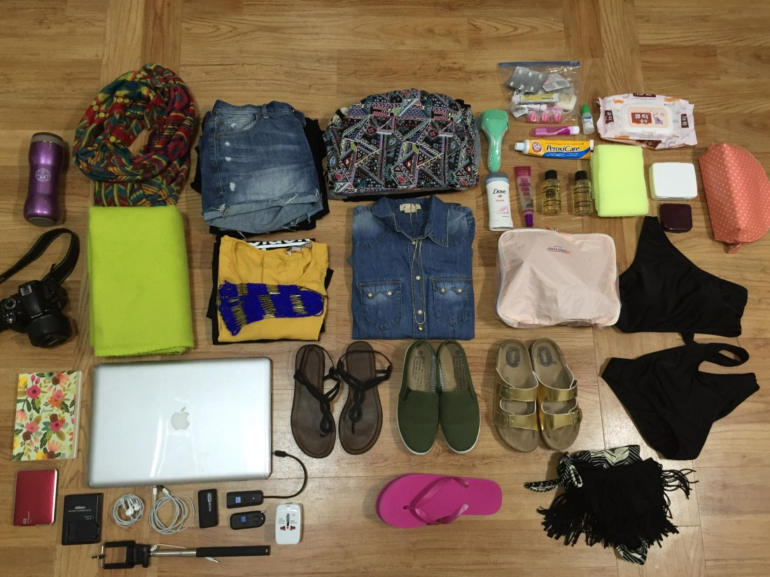 HOW TO PACK FOR 1 MONTH IN SOUTHEAST ASIA: CARRY-ON ONLY