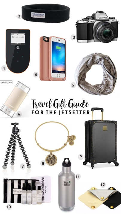 World of A Wanderer's Travel Gift Guide for the Jetsetter