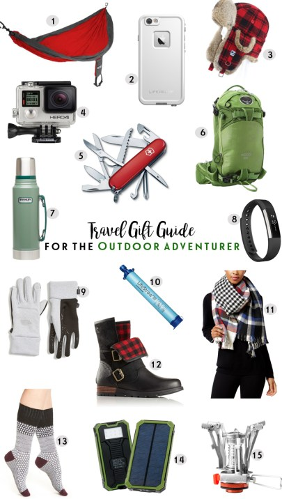 World of A Wanderer's Travel Gift Guide for the Outdoor Adventurer