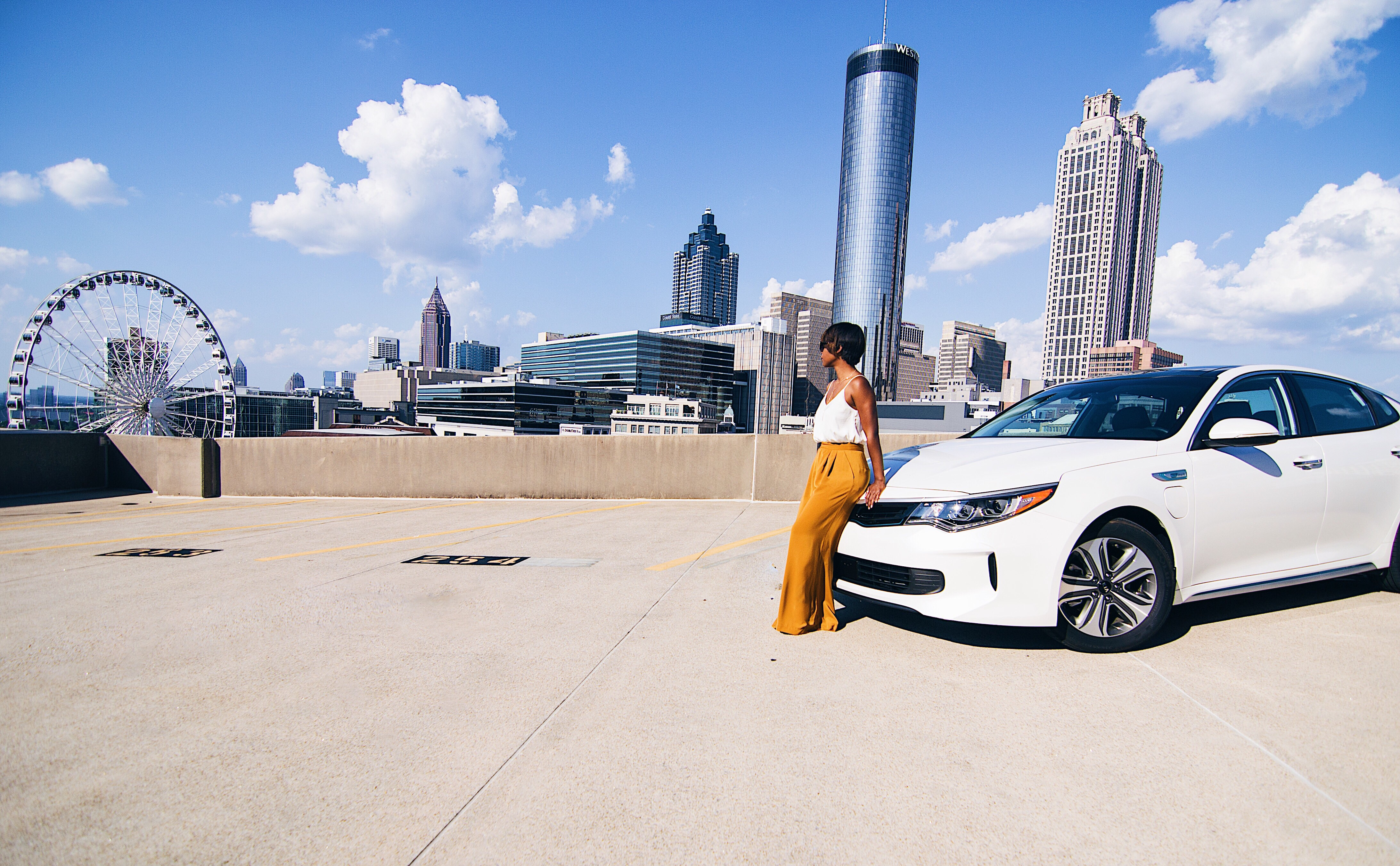 Exploring Atlanta: A 2017 Kia Optima Hybrid Review