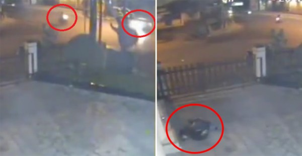 Footage Captures Horrifying Moment Group of Children Gets ...