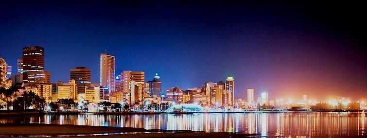 Durban's skyline at Night!