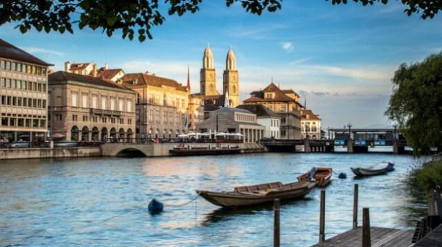 Zurich old city
