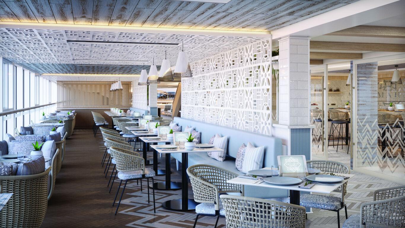 Aquamar Kitchen dining area