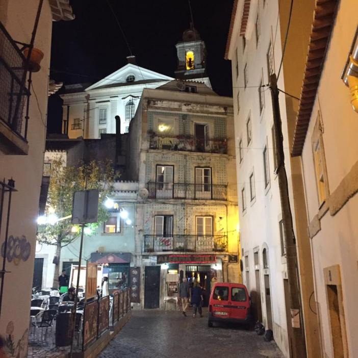 Alfama at Night