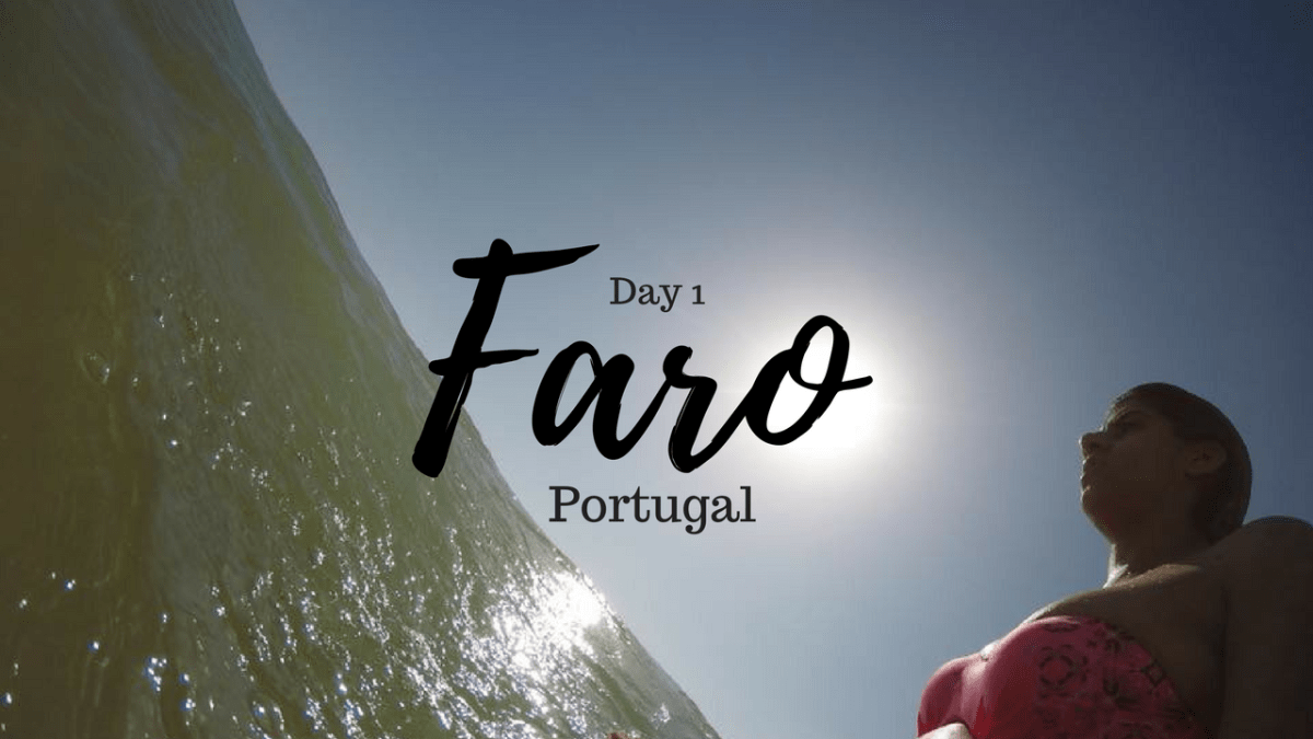 A Time Out In Praia De Faro, Portugal.