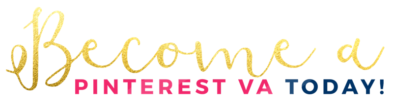 Become a Pinterest VA today banner