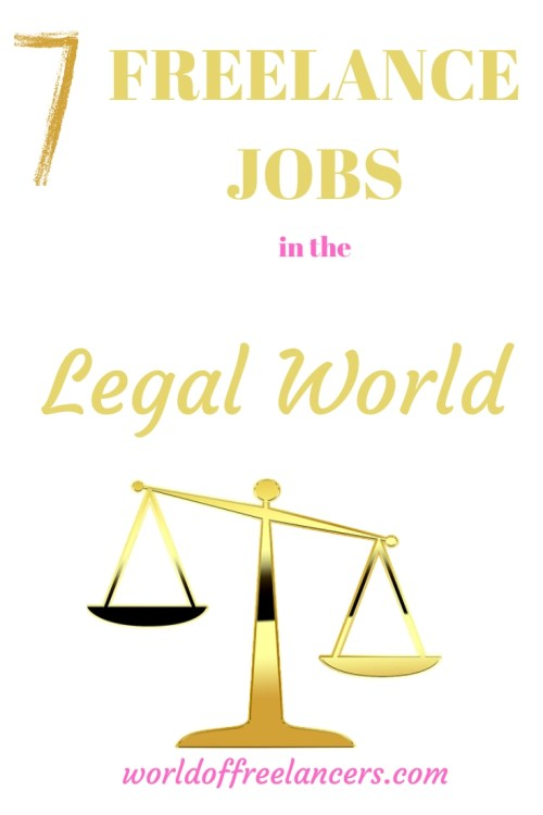 7 freelance jobs in the legal world