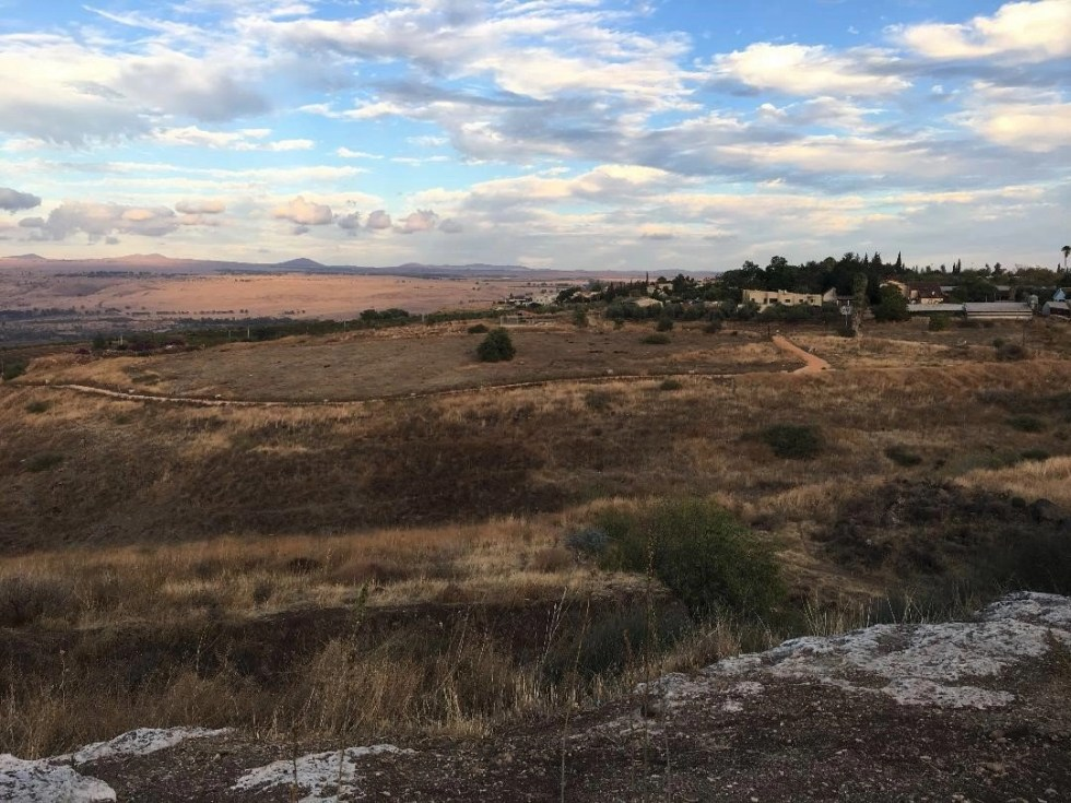 Open fields in northern Israel