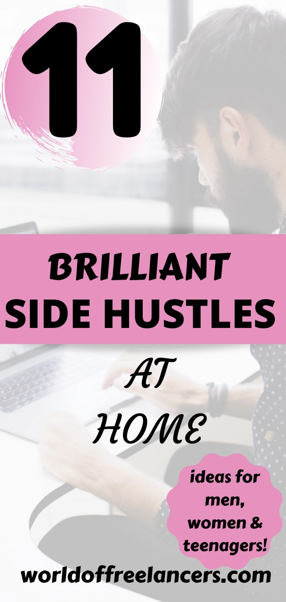 11 brilliant side hustles at home for men, women and teenagers