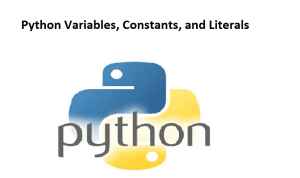 Python Variables, Constants, and Literals