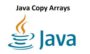 Java Copy Arrays
