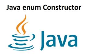 Java enum Constructor