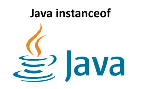 Java instanceof