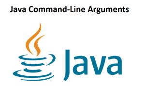 Java Command-Line Arguments
