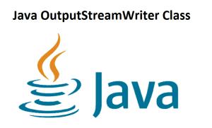 Java OutputStreamWriter Class