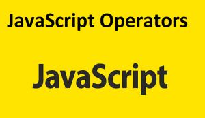 JavaScript Operators