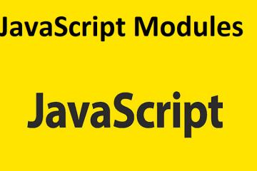 JavaScript Modules