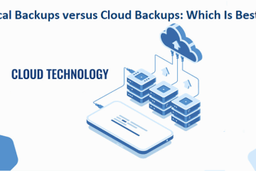 Local Backups versus Cloud Backups