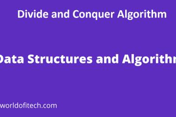 Divide and Conquer Algorithm