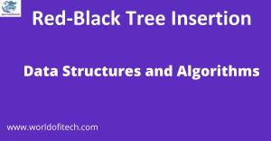 Red-Black Tree Insertion