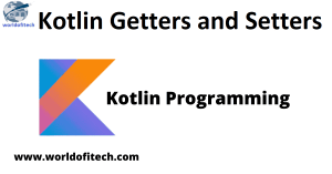 Kotlin Getters and Setters