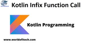 Kotlin Infix Function Call