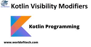 Kotlin Visibility Modifiers